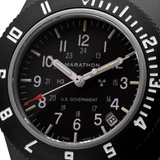 MARATHON Sapphire Crystal Pilot's Navigator 41 mm with Date & Tritium - US Government Markings