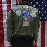 G-1 U.S. Navy Flyer Bomber Jacket with Patches