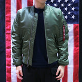 ALPHA MA-1 FLIGHT JACKET (SAGE)