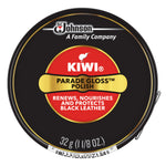 KIWI®  PARADE GLOSS 黑色金罐光澤鞋油 PARADE GLOSS POLISH (BLACK)