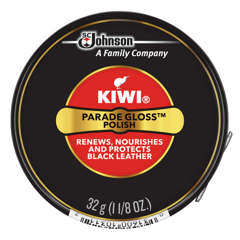 KIWI® PARADE GLOSS POLISH (BLACK)