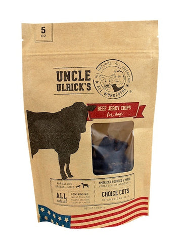 Uncle Ulrick's Jerky Chips - Beef Jerky Chips