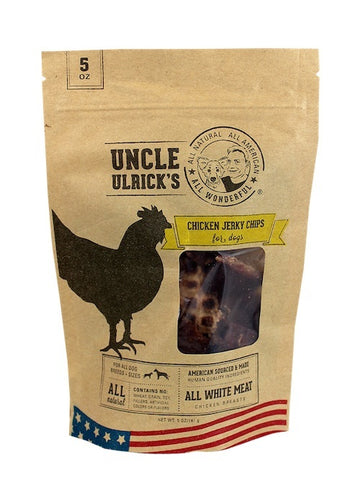 Uncle Ulrick's Jerky Chips - Chicken Jerky Chips