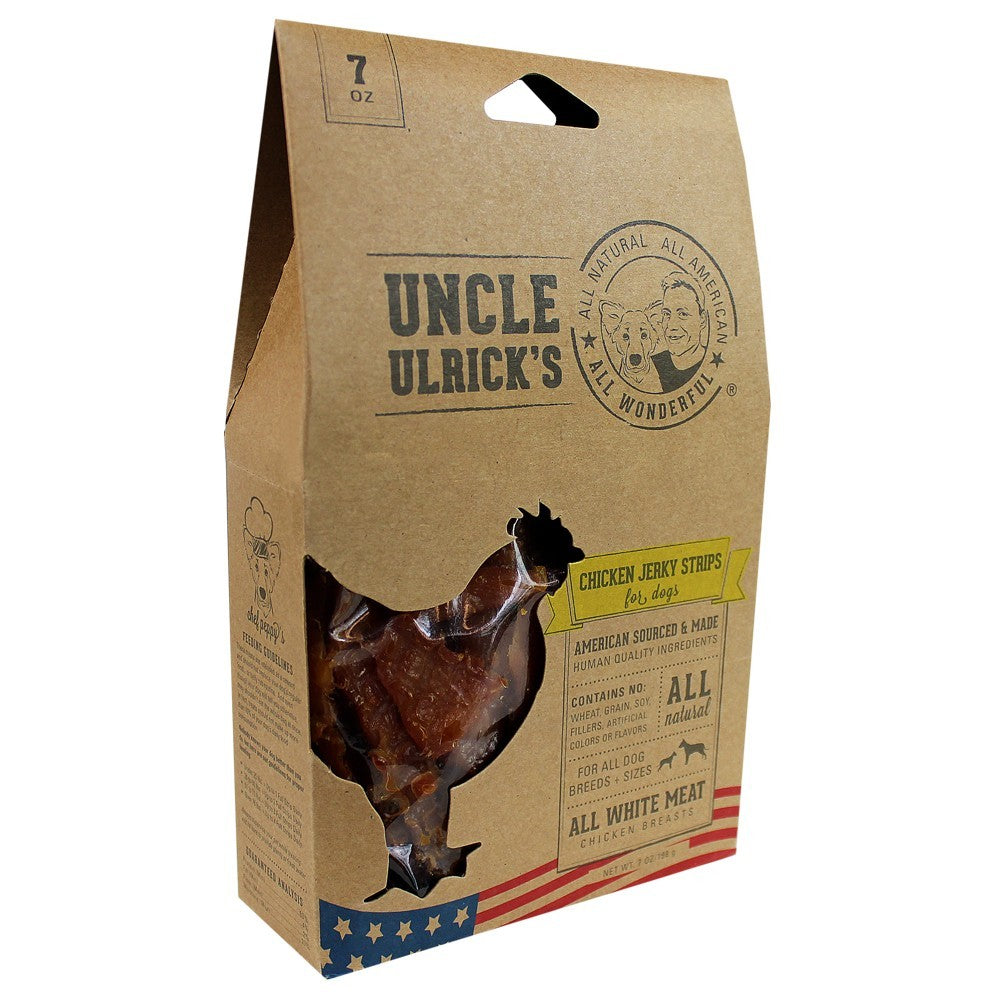 Uncle Ulrick's Jerky Strips - Chicken Jerky Strips