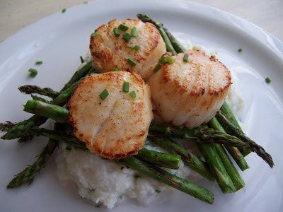 Seared Jumbo Scallop - Tuesday, June 27 - 6pm