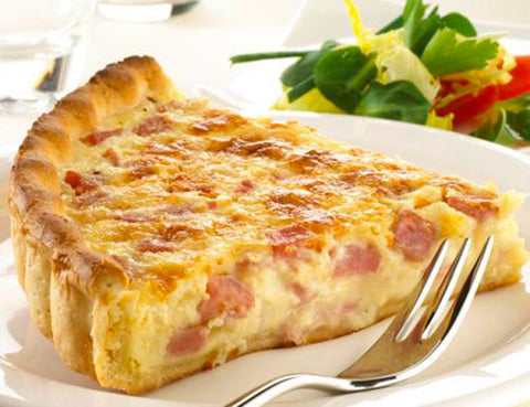 Quiche Lorraine & Smoked Salmon Tart - Tuesday, July 11 - 6pm