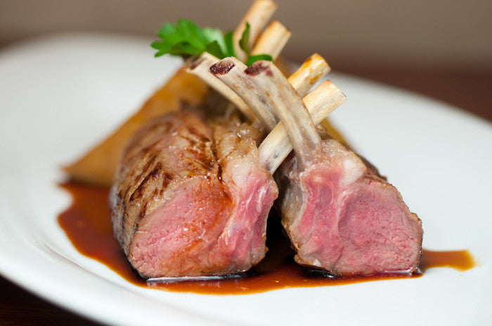 Rack of Lamb with Olive Herb crust - Friday, June 16 - 6pm