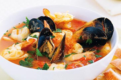 Seafood Bouillabaisse - Friday, June 9 - 6pm