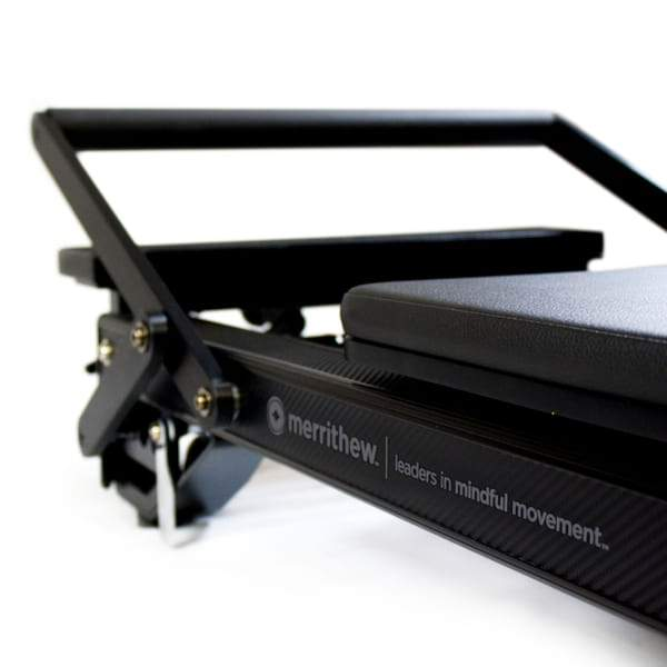 STOTT PILATES® Onyx SPX® Max Reformer with Vertical Stand - Pilates Direct