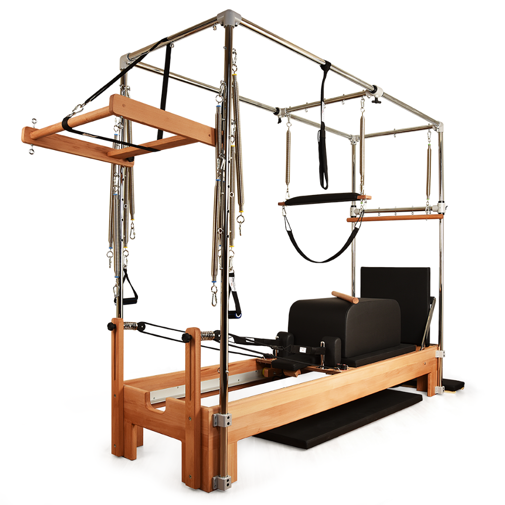 Private Pilates™ Premium Wood Cadillac-Reformer Bundle
