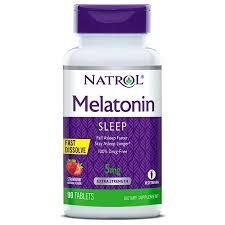 NATROL MELATONIN 5MG FAST DISSOLVE TABLETS STRAWBERRY #90