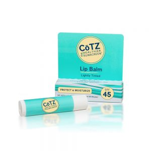 COTZ LIP BALM LIGHTLY TINTED SPF45