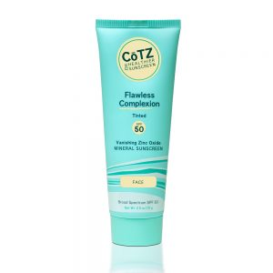 COTZ FLAWLESS COMPLEXION TINTED SPF50