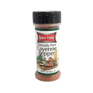 SPICE TIME CAYENNE PEPPER 3 OZ