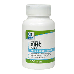 ZINC 50MG NATURAL TABLETS 100 CT