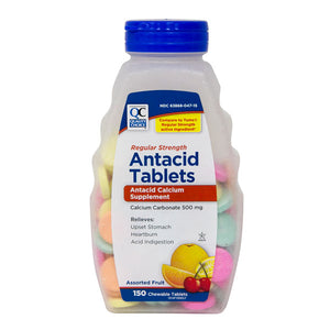 ANTACID REG-STR CHEWABLE TABS ASST FRUIT #150 (TUMS)