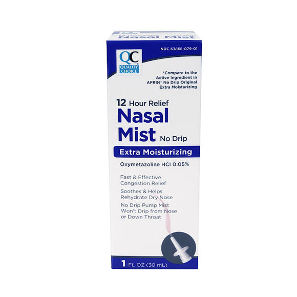 NASAL MIST NO DRIP 12 HR EXTRA MOISTURIZING SPRAY