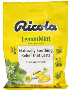 RICOLARICOLA C/DR LZ 24CT LEMON MINT BAG