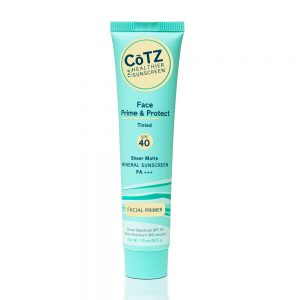 COTZ FACE PRIME & PROTECT TINTED SPF40