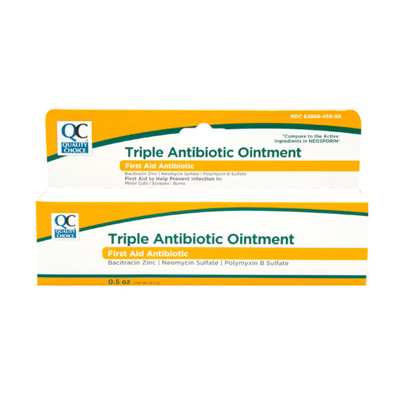 TRIPLE ANITBIOTIC OINTMENT 15GM (NEOSPORIN)