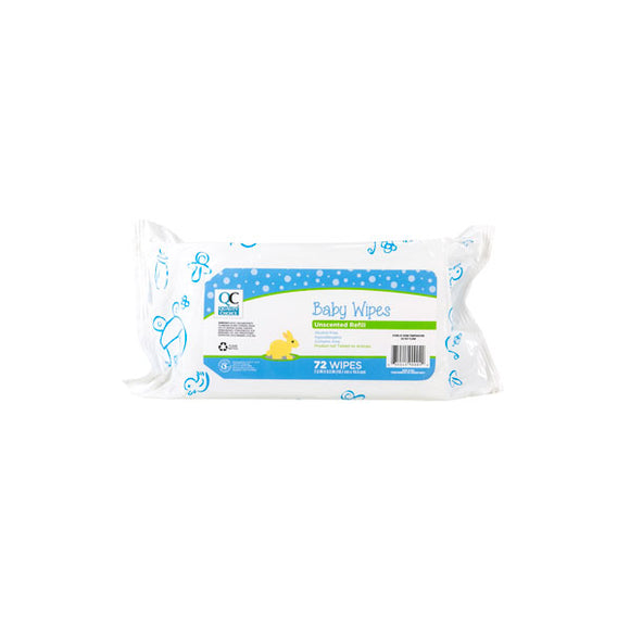 BABY WIPES UNSCENTED REFILL 72EA