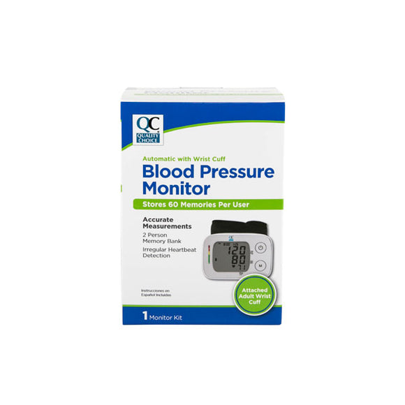 BLOOD PRESSURE MONITOR AUTOMATIC WRIST