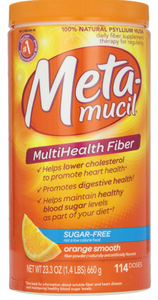 """Metamucil Fiber Sugar Free Orange Smooth Powder 23.3 oz   """