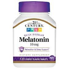 21ST CENTURY MELATONIN QUICK DISSOLVE TABLETS CHERRY #120