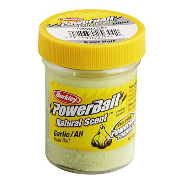 BERKLEY POWERBAIT NATURAL SCENT TROUT GARLIC