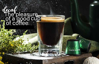 Nespresso Capsules Compatible<p>Decaf<br />  Intensity: 5 <br />50 Capsules </p>