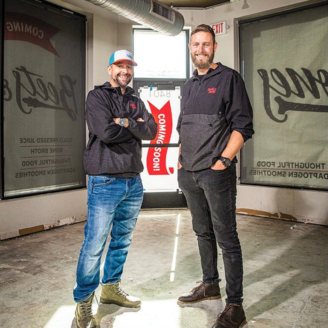 nick and conor upshot owner and co-owner