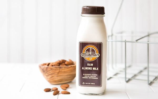 <b>One Time Delivery:</b> <b>17 oz.</b> Raw Almond Milk