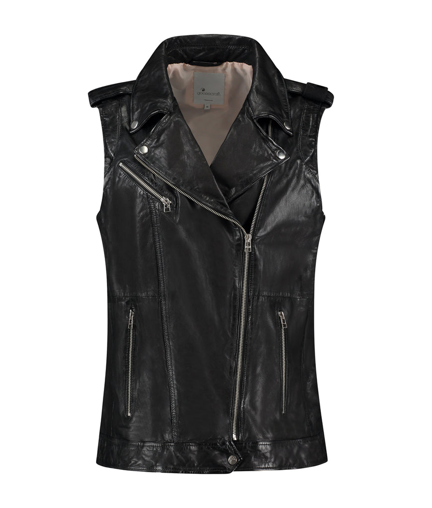 GC Lisa biker vest - black