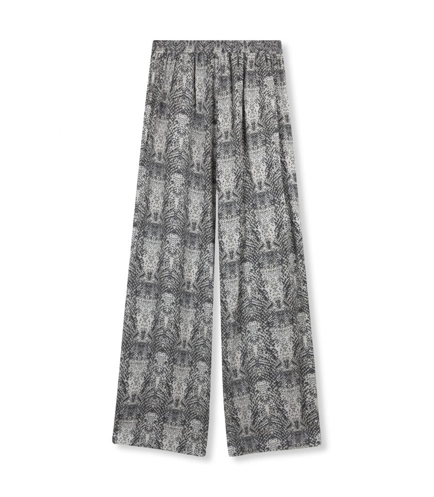 ALIX wide leg pants - snake