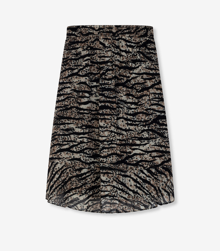 ALIX midi skirt - animal