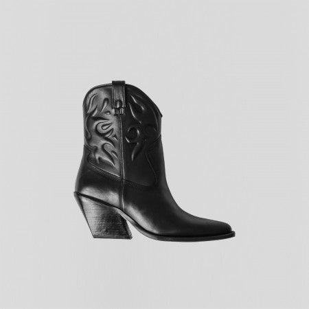 Bronx boots western low black