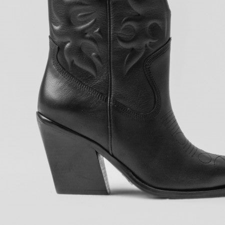 Bronx boots western low black +