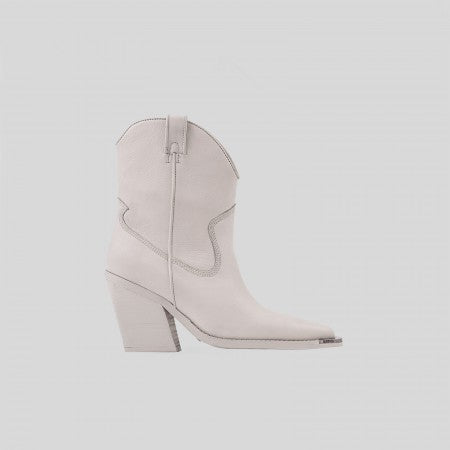 Bronx New Kole Metal Toe - off white