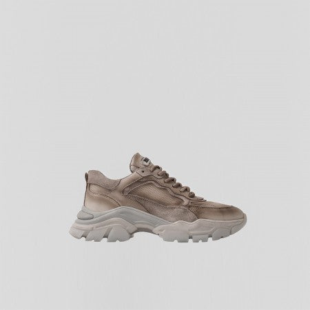 Bronx Tayke-Over sneaker - golden taupe