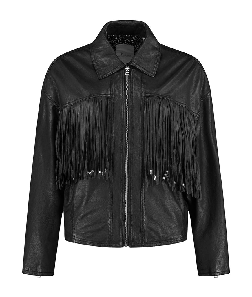 GC Fringe biker - black