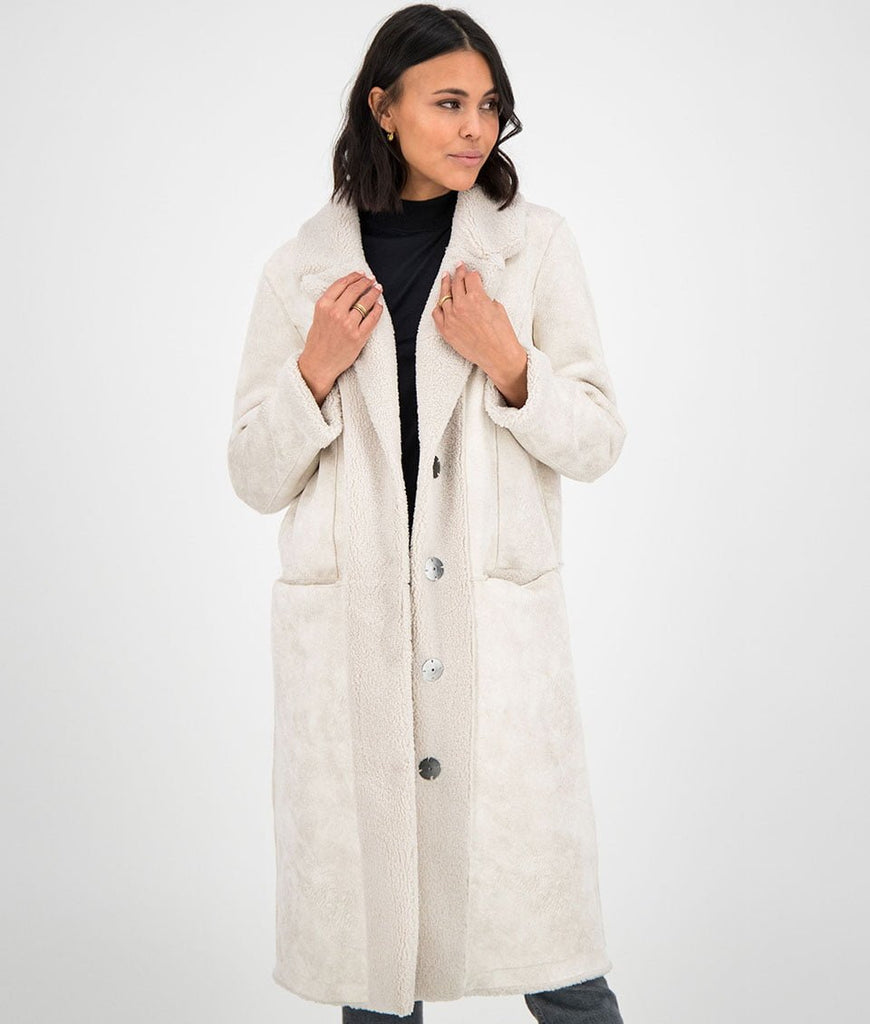 GC Midnight coat - off white