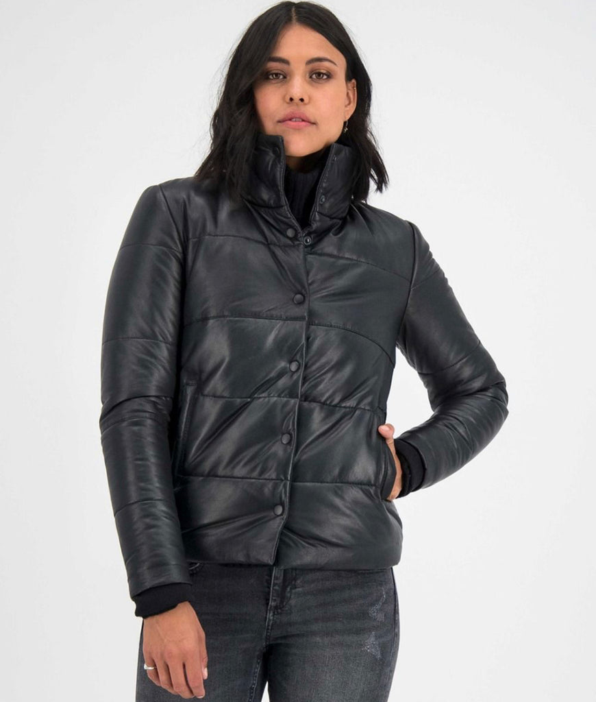 GC River puffer jacket - black