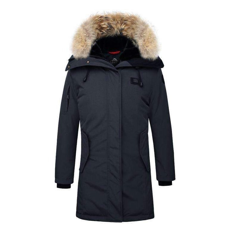 Helvetica Expedition parka - navy