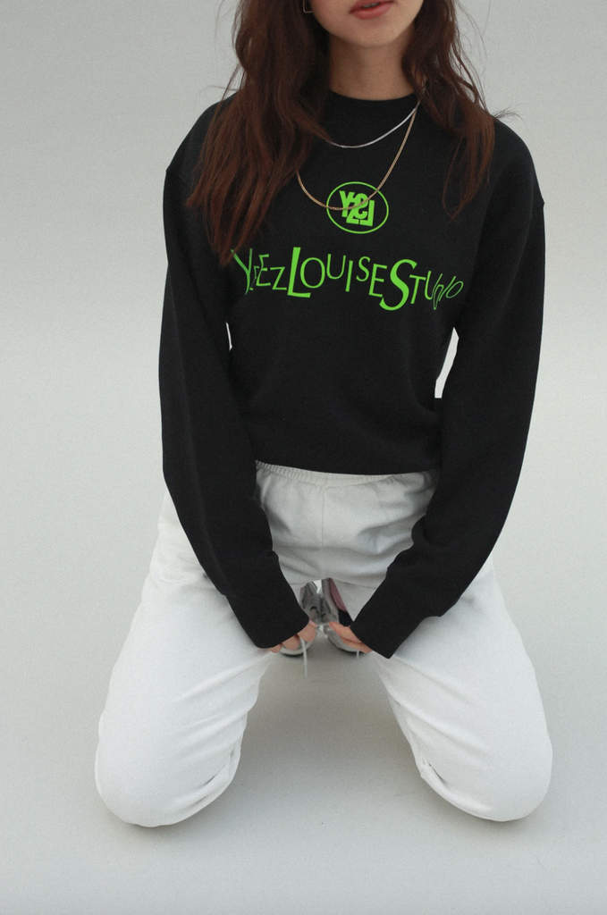 Yeez Louise oversized sweater - neon