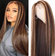 13*6 T Lace Wig Straight #1b27