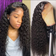 13*6 HD Lace Front Wig Kinky Curly #1b