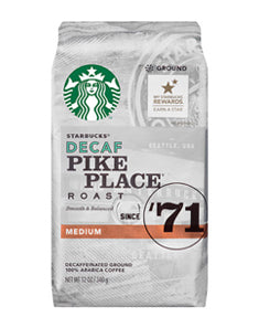 Starbucks Decaf Pike Place (Ground)