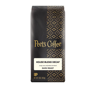 Peets, Decaf House Blend (Bulk Ground)