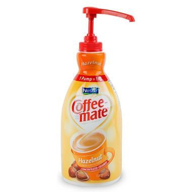 Coffeemate: Hazelnut Creamer (Pump Dispenser)