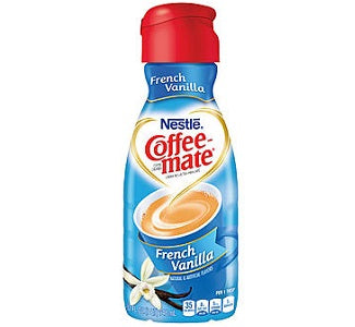 Coffeemate French Vanilla Creamer Quart